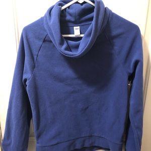 Old Navy EUC snuggly fleece pullover, cowl neck